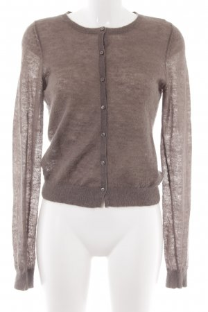 Marc O'Polo Wolljacke graubraun Casual-Look