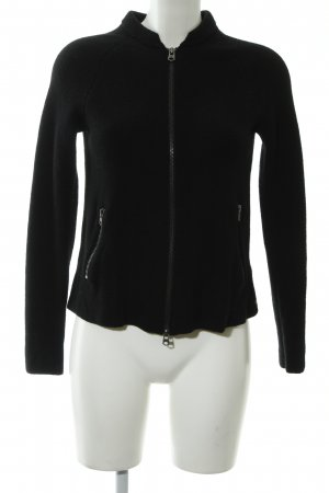 Marc O'Polo Veste en laine noir style décontracté