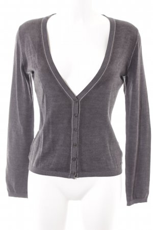 Marc O'Polo Wolljacke taupe-grau Casual-Look