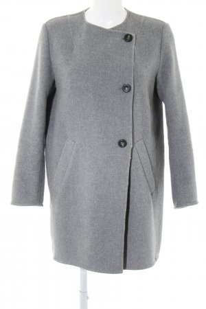 Marc O'Polo Wool Coat light grey flecked business style