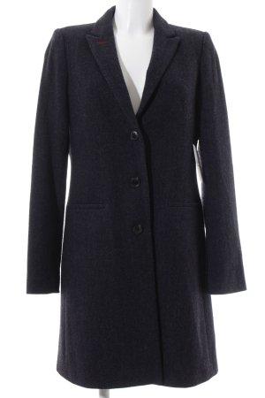 Marc O'Polo Wollmantel dunkelblau klassischer Stil