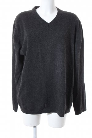 Marc O'Polo Wollpullover anthrazit Casual-Look