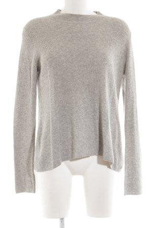 Marc O'Polo Jersey de lana gris claro look casual