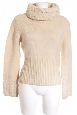 Marc O'Polo Wollpullover creme Kuschel-Optik