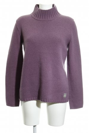 Marc O'Polo Wollpullover graulila Casual-Look