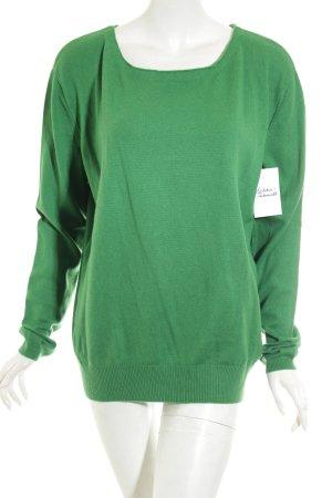 Marc O'Polo Wollpullover grün schlichter Stil