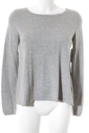 Marc O'Polo Jersey de lana gris claro moteado estilo sencillo