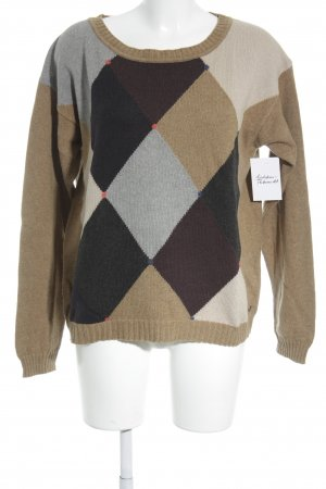Marc O'Polo Wollpullover Karomuster Casual-Look