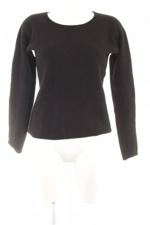 Marc O'Polo Wollpullover schwarz Casual-Look