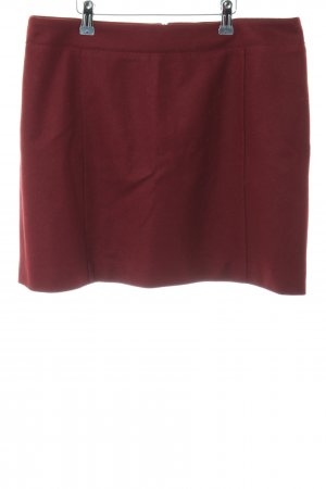 Marc O'Polo Gonna di lana rosso stile casual