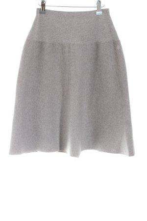 Marc O'Polo Gonna di lana grigio chiaro stile casual