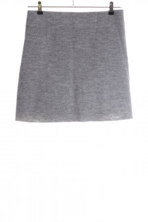 Marc O'Polo Wool Skirt light grey flecked business style