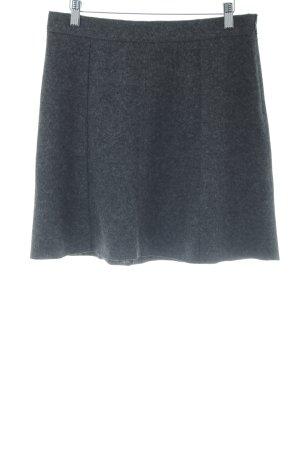 Marc O'Polo Gonna di lana antracite puntinato stile minimalista