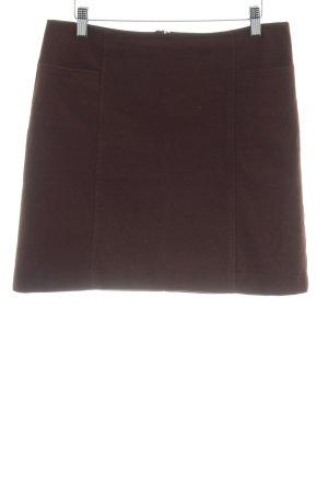 Marc O'Polo Falda de lana rojo amarronado-burdeos elegante
