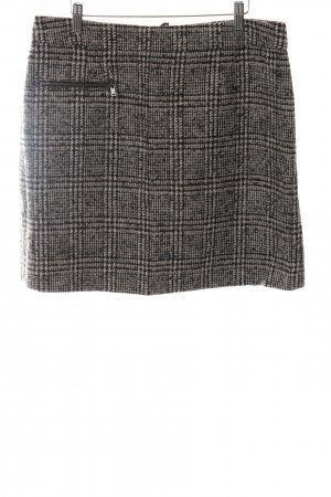 Marc O'Polo Wool Skirt bronze-colored-cream check pattern casual look