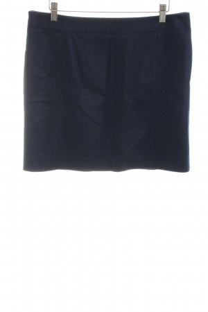 Marc O'Polo Wollen rok donkerblauw casual uitstraling
