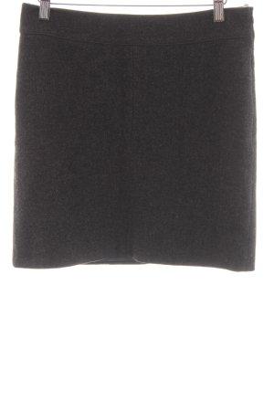 Marc O'Polo Gonna di lana grigio scuro puntinato stile classico