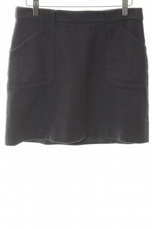 Marc O'Polo Wool Skirt dark grey simple style