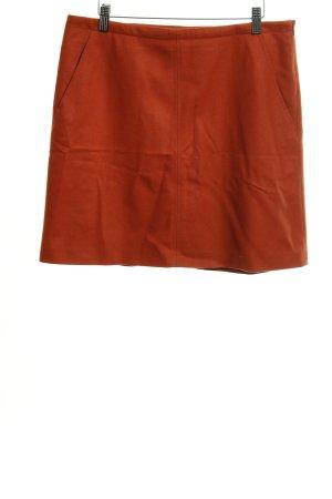 Marc O'Polo Wool Skirt dark orange