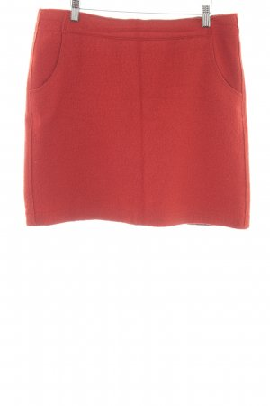 Marc O'Polo Wool Skirt dark orange casual look