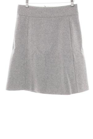 Marc O'Polo Jupe en laine gris clair moucheté style simple