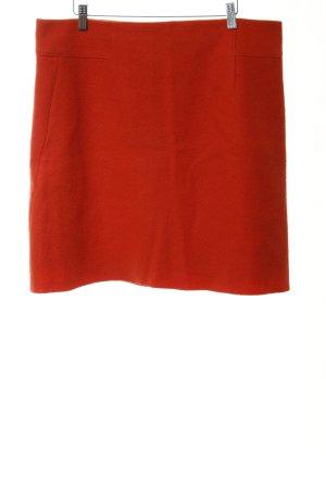 Marc O'Polo Gonna di lana rosso chiaro stile casual
