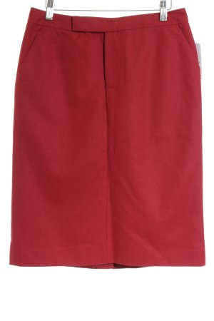 Marc O'Polo Wool Skirt red classic style