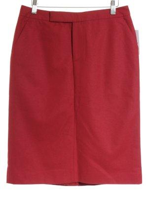 Marc O'Polo Wollrock rot klassischer Stil