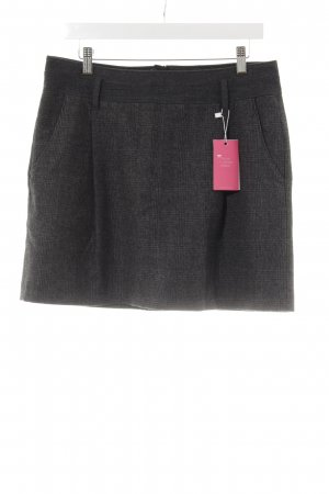 Marc O'Polo Wool Skirt black-anthracite art pattern casual look