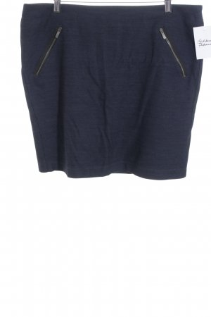 Marc O'Polo Wollrock stahlblau Casual-Look