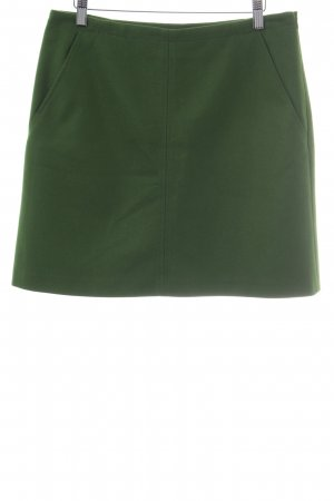 Marc O'Polo Wool Skirt forest green elegant