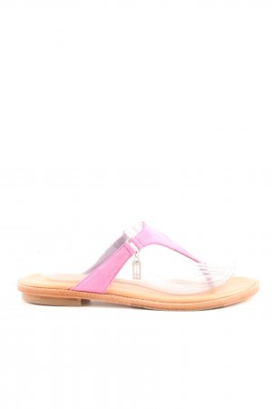Marc O'Polo Toe-Post sandals pink casual look