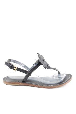 Marc O'Polo Sandalo toe-post nero stile casual