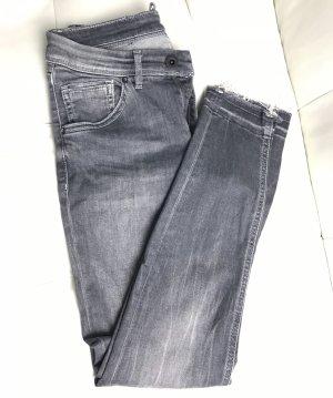 Marc O'Polo Jeans a zampa d'elefante nero-antracite