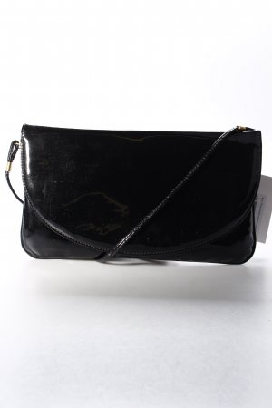 Marc Picard Clutch schwarz Lack-Optik
