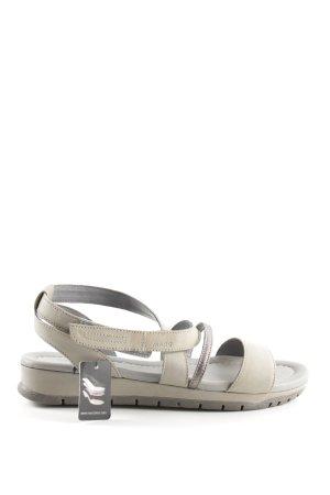 MARC Sandalo con cinturino bianco sporco-grigio chiaro stile casual