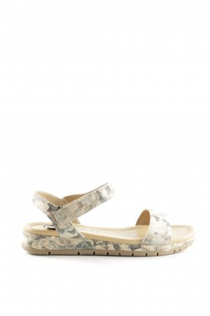 MARC Sandalo con cinturino motivo floreale stile casual