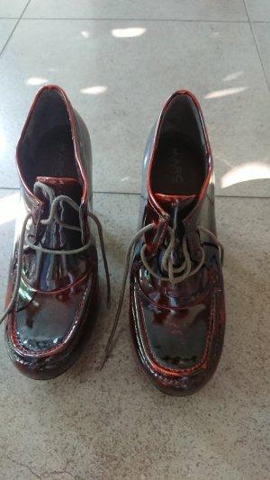 MARC Chaussure à talons carrés multicolore cuir