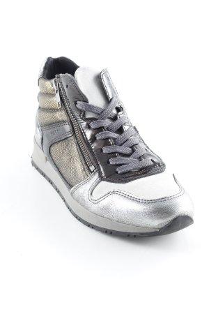 MARC Schnürsneaker silberfarben-bronzefarben sportlicher Stil