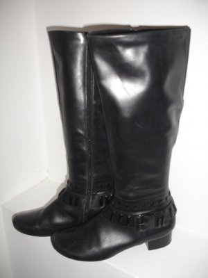 MARC Riding Boots black leather