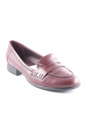 MARC Slipper bordeauxrot Business-Look