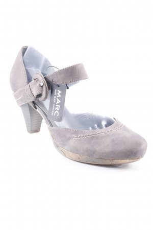 MARC Backless Pumps grey casual look