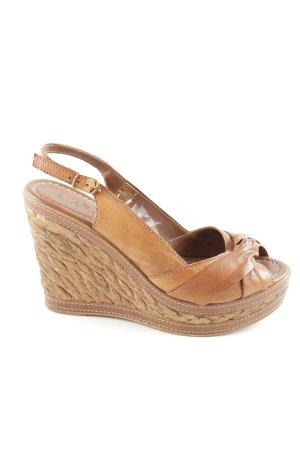 MARC Wedges Sandaletten mehrfarbig Elegant