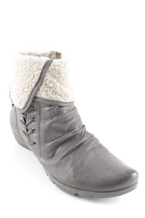 MARC Winter-Stiefeletten taupe-creme Casual-Look