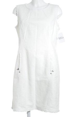 Marccain A-Linien Kleid wollweiß Business-Look