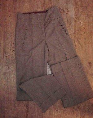 Marc Cain Suit Trouser grey brown