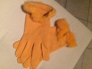 Marccain Handschuhe mit Pelz