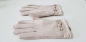 Gloves oatmeal new wool