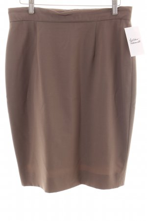 Marccain High Waist Rock hellbraun Casual-Look