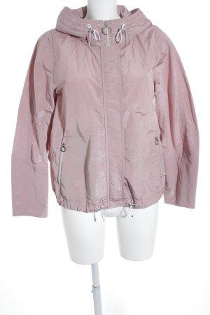 Marccain Kapuzenjacke rosé-weiß Casual-Look